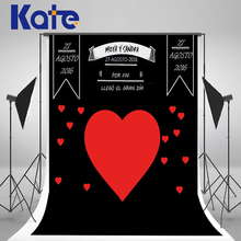 Kate Custom Wedding Blackboard Name Date Photocall Photography Studio Love Wedding Background Photo Backdrop Invite Signature