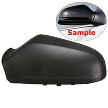 Door Wing Mirror Left Side Cover Casing Cap VAUXHALL ASTRA H 2004-2009 Black - Make-up Car Store store