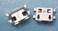 free shipping  micro usb connector 5pin charging port  repair parts for many mobiles and tablets and other products