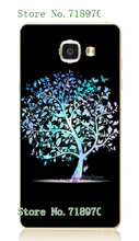 2016 new fashion online-custom color trees hot sale white hard cases for Samsung Galaxy A5 2016 A5100 Free Shipping