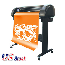 "24"" 110V SIGNKEY Vinyl Sign Cutter with Automatic Contour Cut Function, Bluetooth Output"