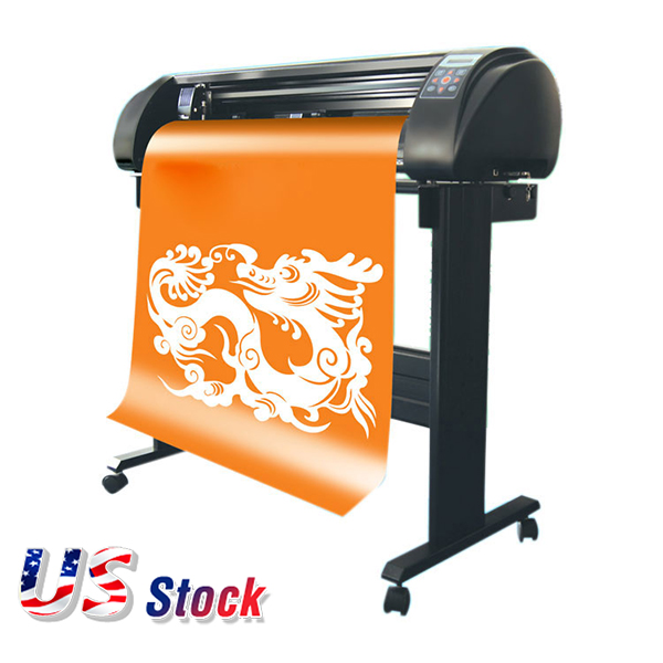 "24"" 110V SIGNKEY Vinyl Sign Cutter with Automatic Contour Cut Function, Bluetooth Output(China)"