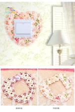 1 Pieces Brand New Household Flowerlet Fabrics Lace Love Switch Dustproof Cover socket wall