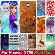 Painted Case Cover For Huawei Ascend G700 Colorfull Balloon Love You Beer Moon Princess Phone Case Covers Hood Shell