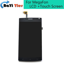 100% For MegaFon Login+MFLoginPh TOPSUN_G5247_A1 Neweswt LCD Display With Touch Screen Digitizer Assembly Replacement Parts