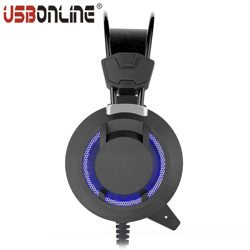 10pcs 3.5MM Gaming Headphones Headset Over-ear Headband Stereo Bass Audio Earphone With Mic LED Light For PC Game Casque<br><br>Aliexpress
