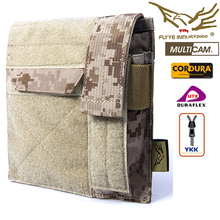 Pouch Multicam FLYYE Military-C020 Airsoft CORDURA Molle-Map Hunting with AOR AU FG Wargame