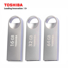 TOSHIBA U401 Metal USB Flash Drive 64GB Pen Drive 32GB Pendrive USB2.0 Flash Drive 16GB Usb Stick Waterproof Pendrive