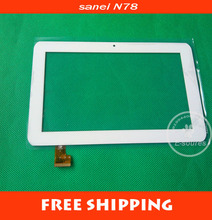 "Original new 7""inch touch digitizer touch panel touch glass for Sanei N78 Ampe A78 3G version tablet PC(TPC0509) free shipping"