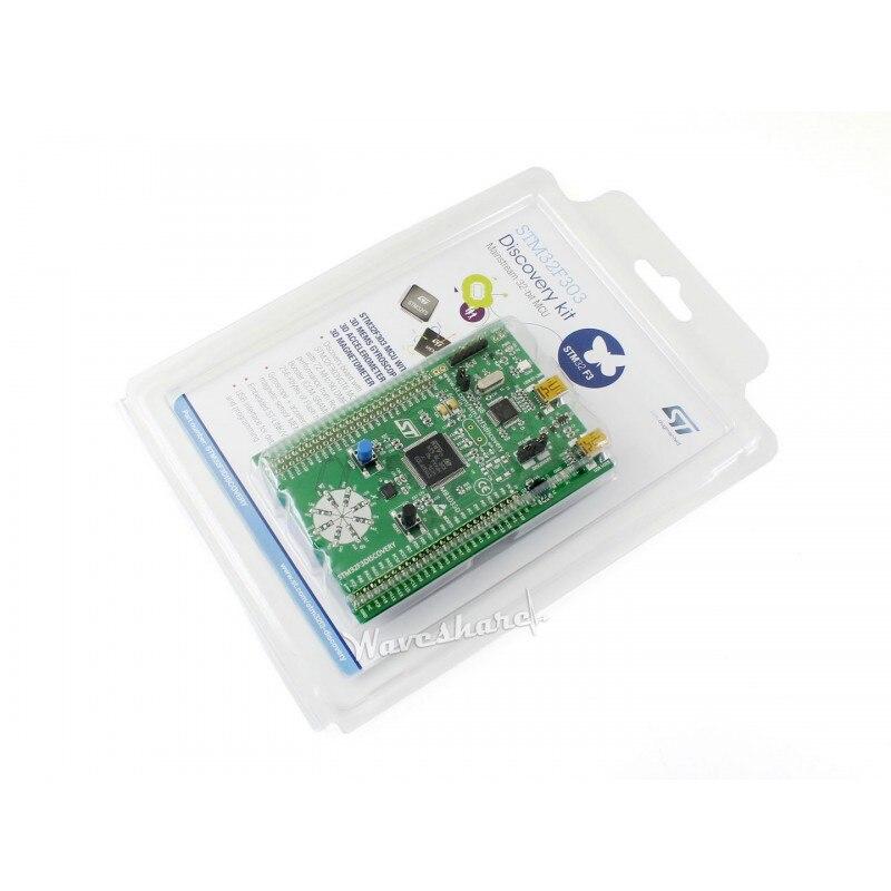 module STM32 Discovery STM32F3DISCOVERY STM32F303VCT6 STM32F303 STM32 ARM Cortex-M4 STM32 Board Embedded ST-LINK/V2 = STM32F3DIS<br>