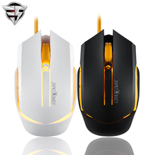 James Donkey 112 Optical USB Gaming mouse led backlight wired Pro game For Laptop PC Computer gamer RTS FPS CF LOL office game(China)