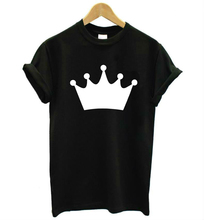 crown princess Print Women tshirt Cotton Casual Funny t shirt For Lady Top Tee Hipster Tumblr Drop Ship Z-867