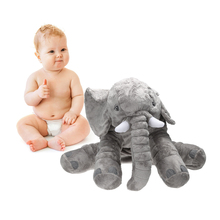 Large  super soft short plush  Elephant Toy Elephant Doll Baby Doll Birthday Gift Holiday Gift Home Decor Kids Gift Stuffed Toy