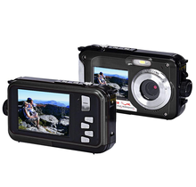 2.7inch TFT Digital Camera Waterproof 24MP MAX 1080P Double Screen 16x Digital Zoom Camcorder hot new 4 colors choose