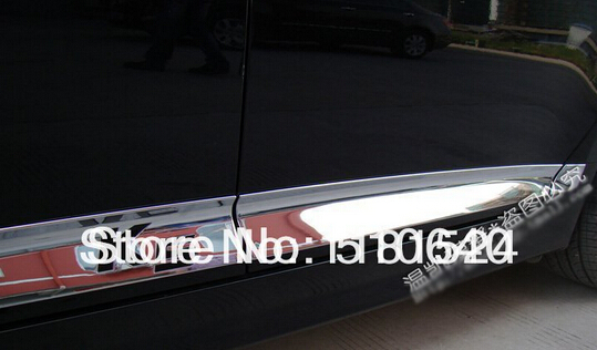 for 2011 KIA Optima/K5 High quality ABS Chrome body side moldings side door decoration<br><br>Aliexpress