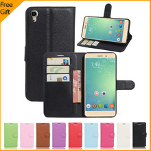 "For BLUBOO Maya Case Original Wallet PU Leather Back Cover Case For BLUBOO Maya Case 5.5"" Flip Protective Phone Bag Skin Fundas(China)"