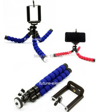Octopus Leg Flexible Tripod Bracket Stand For iPhone 4 4S 5 5S 5C 6 plus Samsung i9300 i9500 Galaxy S4 Note 2 3+CellPhone Holder