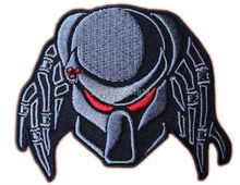 "3"" PREDATOR ALIEN ARNOLD Movie TV Series Embroidered iron on patch cosplay transfer COMICS APPLIQUE(China)"