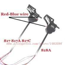 UDI U817 U817C U818C  RC Quadricopter Spare Parts  Motor Carbon tube unit (red blue wire ) Free Shipping