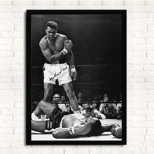 Inspiring Ali muhammad Poster Modern Canvas Print Picture Canvas Painting Wall Art Living Room Decor Home Decoration, NO Frame