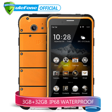 Ulefone ARMOR IP68 Waterproof Smartphone 4.7 inch HD MTK6753 Octa Core Android 6.0 3GB RAM 32GB ROM 13MP Cam OTA 4G Cellphone