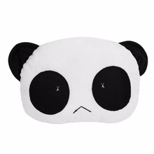 Panda Cartoon Back Waist Pillow Support Cushion plush lumbar pillow car seat for office chair sofa car styling For Toy Kids Gift