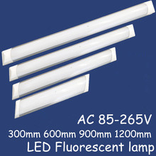 10pcs Nwe Lampada Led Panel Lights LED Batten light Explosion Proof dust-proof lamp 25W 35W 45W Ceiling lamp Purification lights