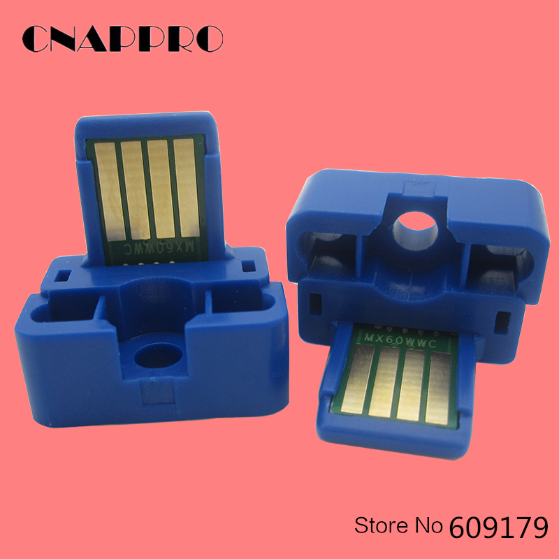 4PCS MX-60 MX60 Toner Chip For Sharp MX-2630N MX-3050N MX-3060 MX-3070N MX-MX-3060 MX3550N MX-3570N MX4050N cartridge Chips