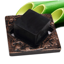 Bamboo charcoal handmade soap Treatment skin care natural Skin whitening soap blackhead remover acne treatment oil control@ME88