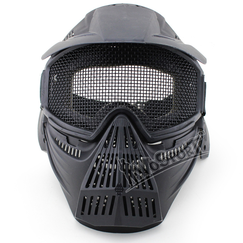CS paintball mask 3 color protection wire mesh tactical mask of granular material impact protection cool masks<br><br>Aliexpress