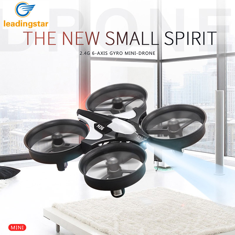 Mini Drone H36 RC Quadcopter 2.4G 6-Axis Gyro 4 Channels LED Headless Mode One Key Return RC Helicopters Dron RTF Quadcopter Toy<br><br>Aliexpress