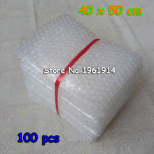 100pcs 40x50CM Air Bubble Pouches Wrap PE Buffer Mailer Packaging Inflatable Air Cushion Shockproof Bag in Bag