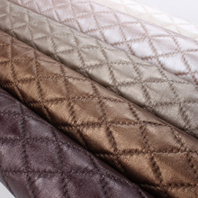 PVC artificial leather manufacturers Spot soft bag fabric hard handbag fabrics decorative sewing leather furniture leather bags(China)