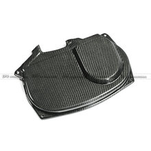 For Mitsubishi Evolution EVO 9 Carbon Fiber Mivec Style Cam Cover Glossy Fibre Finish Engine Accessories Racing Trim Car-Styling