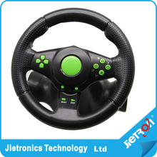 Hot Gaming Vibration Racing Steering Wheel (23cm) and Pedals for XBOX 360 PS3 PS2 PC USB