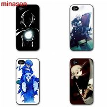 minason Soul Eater Anime Head Cover case for iphone 4 4s 5 5s 5c 6 6s 7 7 8 plus samsung galaxy s3 s4 S5 S6 S1988(China)
