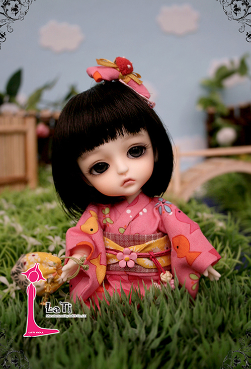 flash sale!free shipping!free makeup&amp;eyes!top quality bjd 1/8 baby doll LATI Summer Festival-Special Limited ver. Lea hot toy ki<br><br>Aliexpress