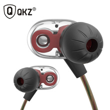New Original QKZ KD8 Super HIFI Bass In-Ear Music Earphone With Double Dynamic Unit Driver Running Sport Earplug Headset Earbud(China)