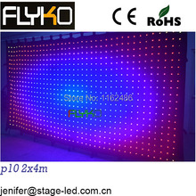 Free shipping hot sale products on market led video curtain