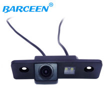 Factory Selling CCD Car rear view Camera Backup Camera for Ford Fusion (Europe) F'yuzhn CCD HD chip night vision waterproof(China)