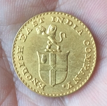 24-K Gold plated 1820 British coins copy Free shipping(China)