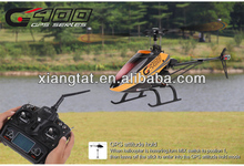 New Product! Walkera G400 with DEVO 10 6 axis RTF 6ch 3D Flybarless RC Helicopter with GPS Function