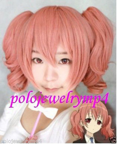 FREE SHIPPING Hot heat resistant Party hair&gt;&gt;&gt;&gt;&gt;&gt;&gt;New Cosplay Inu x Boku SS Secret Service Roromiya Karut Split Type Pink Wig<br><br>Aliexpress