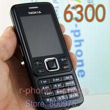 Original Nokia 6300 Mobile Phone Unlocked Black 6300 cellphone & Russian Arabic English Keyboard