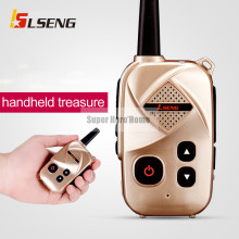 New Mini Professional Walkie Talkie 2W Power Portable Two Way Radio UHF 400-470MHz Push To Talk Interphone