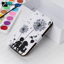 TAOYUNXI Cross Pattern Painted Leather Cases For Samsung Galaxy A7 2016 SM-A710F A710 A710F A7100 Housing Phone Bag Skin(China)