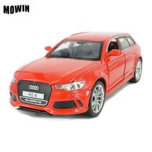 MOWIN Metal Auto Movie Fast Furious Acousto-optic Auto Diecast Model Emulation Lights&Music Super Racing Car Lovers Enfants Gift