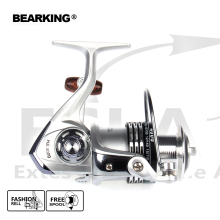 New model Bearking 2017 Fishing Reel Fishing Spinning Reel 5.2:1 Light Aluminum Fishing Reel Wheel Series Free shipping(China)