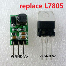 5W 6.5-40V to 5V DC DC Converter Step-Down Buck Module Voltage regulator Directly replace TO-220 L7805 LM7805 LDO IC