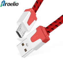 Buy Proelio USB Cable Samsung s7 s6 edge 2m Micro USB Cable Huawei Xiaomi HTC Android Data Sync Charging Mobile Phone Cables for $1.39 in AliExpress store